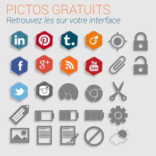 pictos et images gratuites et libres de droit pour votre site