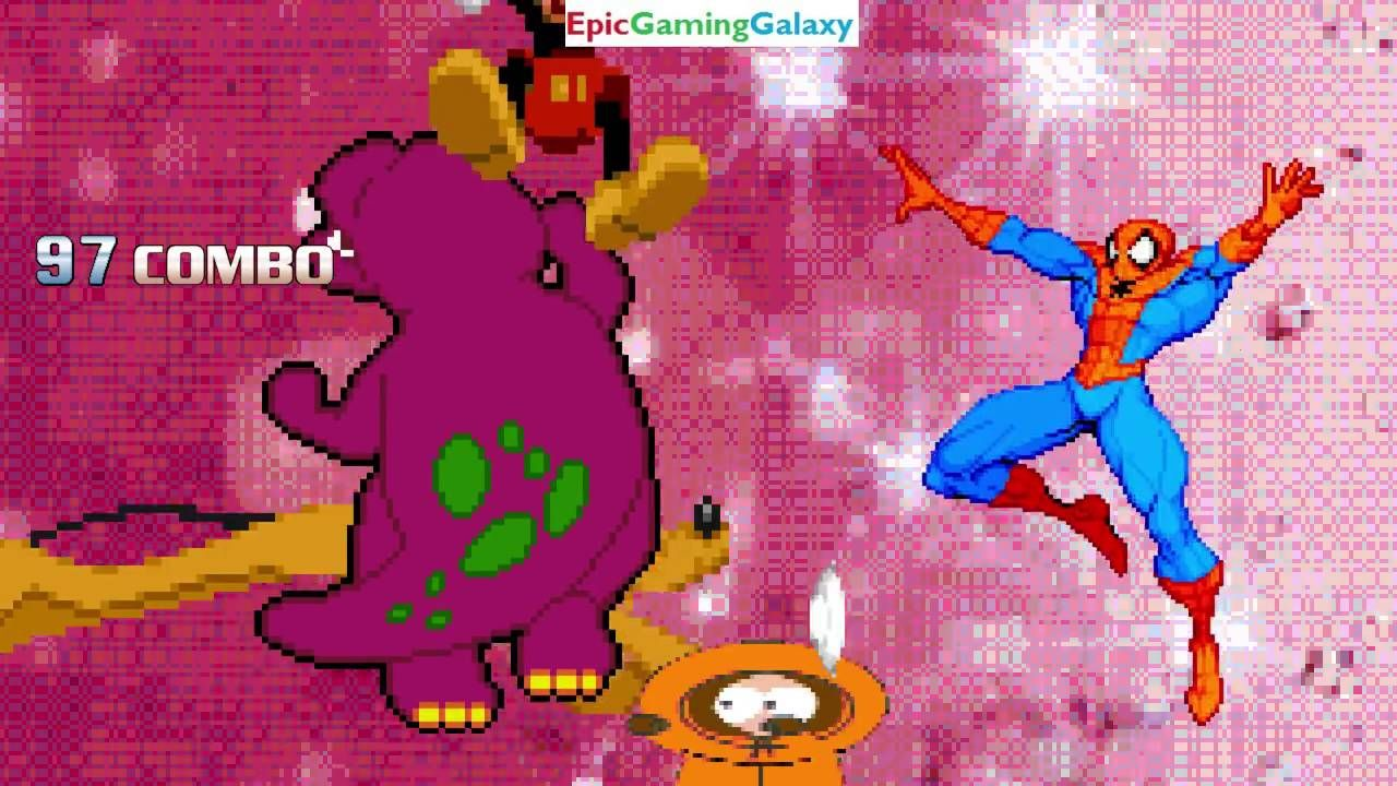 Barney The Dinosaur & Mickey Mouse VS Kenny McCormick & Spider-Man In A MUGEN Match / Battle / Fight https://t.co/fnSA93hMss #IFTTT