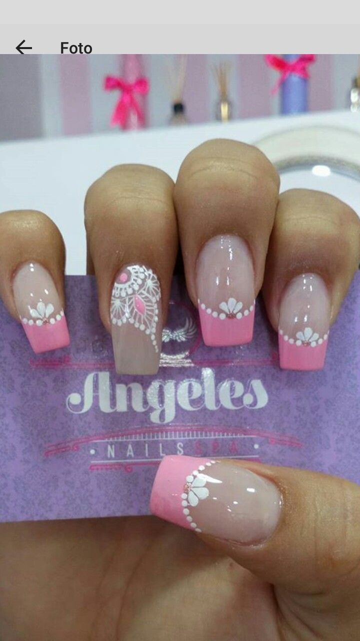 Pin by abigail perez on uñas pinterest nails nail art and nail