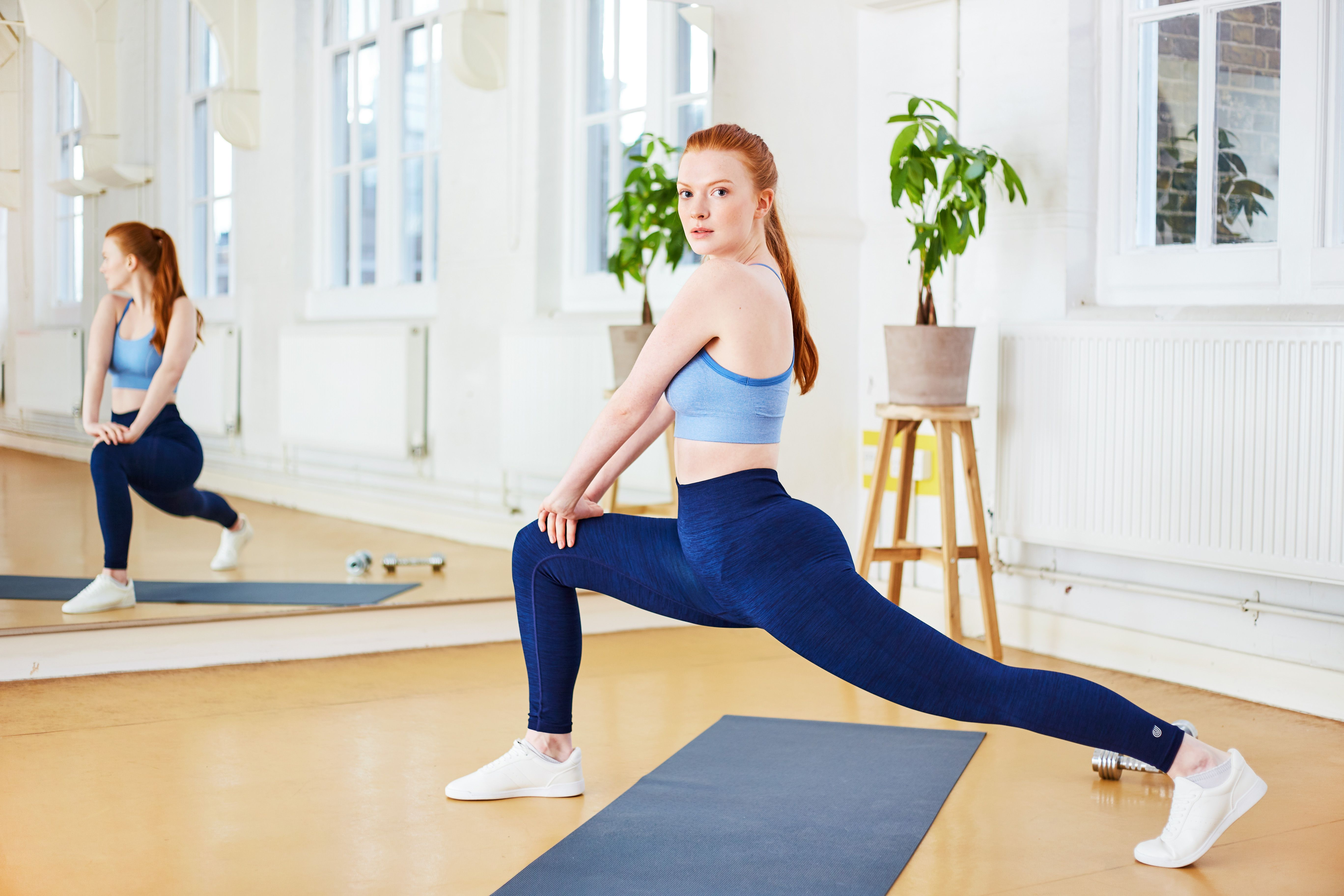 02284f9bb4 Stretch to keep the flexible and muscles strong. Our Pace Setter Marl gym  leggings have all the stretch you need.