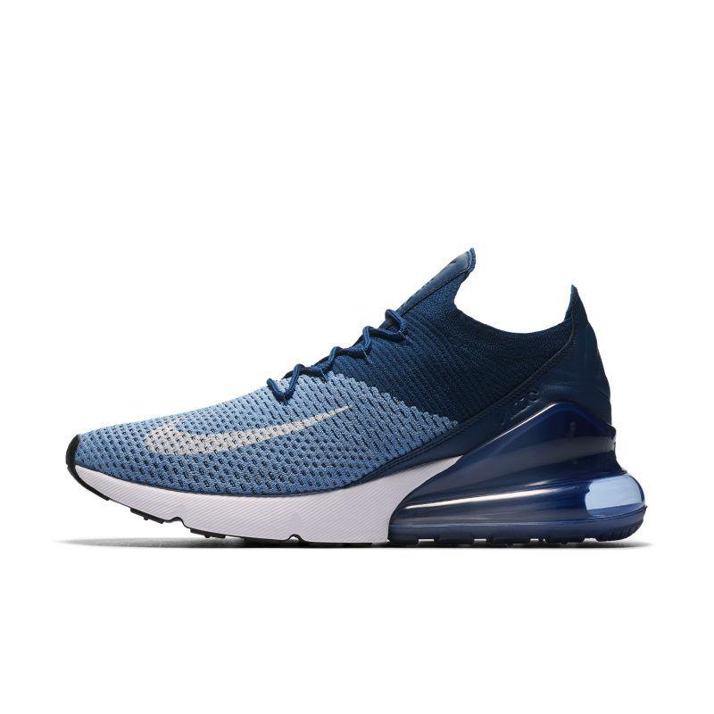 Nike Air Max 270 Flyknit Herrenschuh – Blau #lpu #sneaker