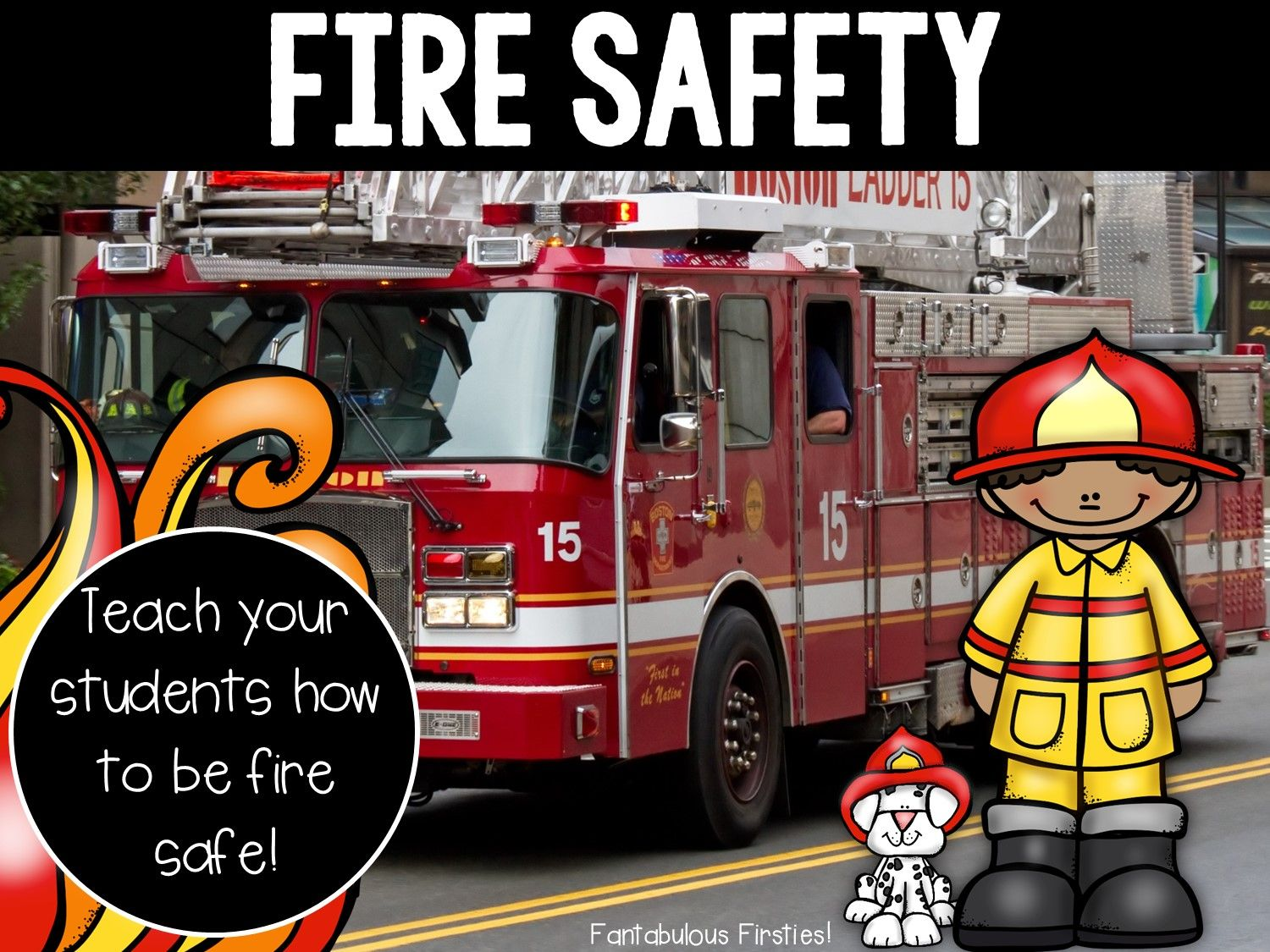 Fire Safety Unit For Fire Prevention Week