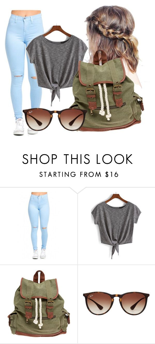"""""""Untitled #881"""" by filhote-1207 on Polyvore featuring Wet Seal and Ray-Ban"""