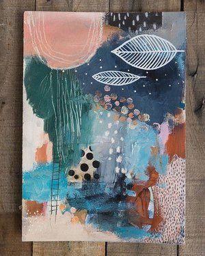 New Watercolour Abstracts — LAURA HORN ART - #abstractart