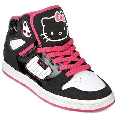 a8b3573315 Vans® Allred Hello Kitty High-Top Sneakers - jcpenney