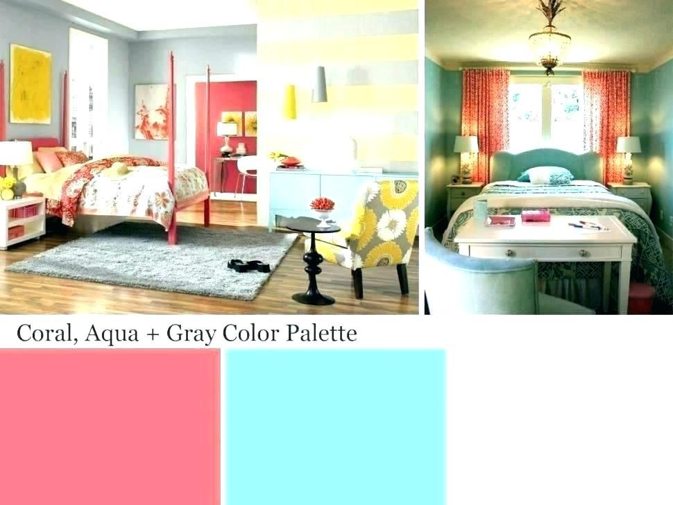 Turquoise and coral living room decor decorating ideas color blue images