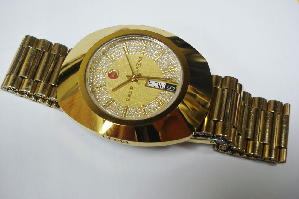 Rado Diastar 636 0313 3 Diamonds Automatic Swiss Mens Watch 100 Authentic Wristwatch Men Watches For Men Watches