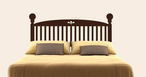 A headboard decal for all types of bed.  Visit this link for more designs: https://limelight-vinyl.myshopify.com/