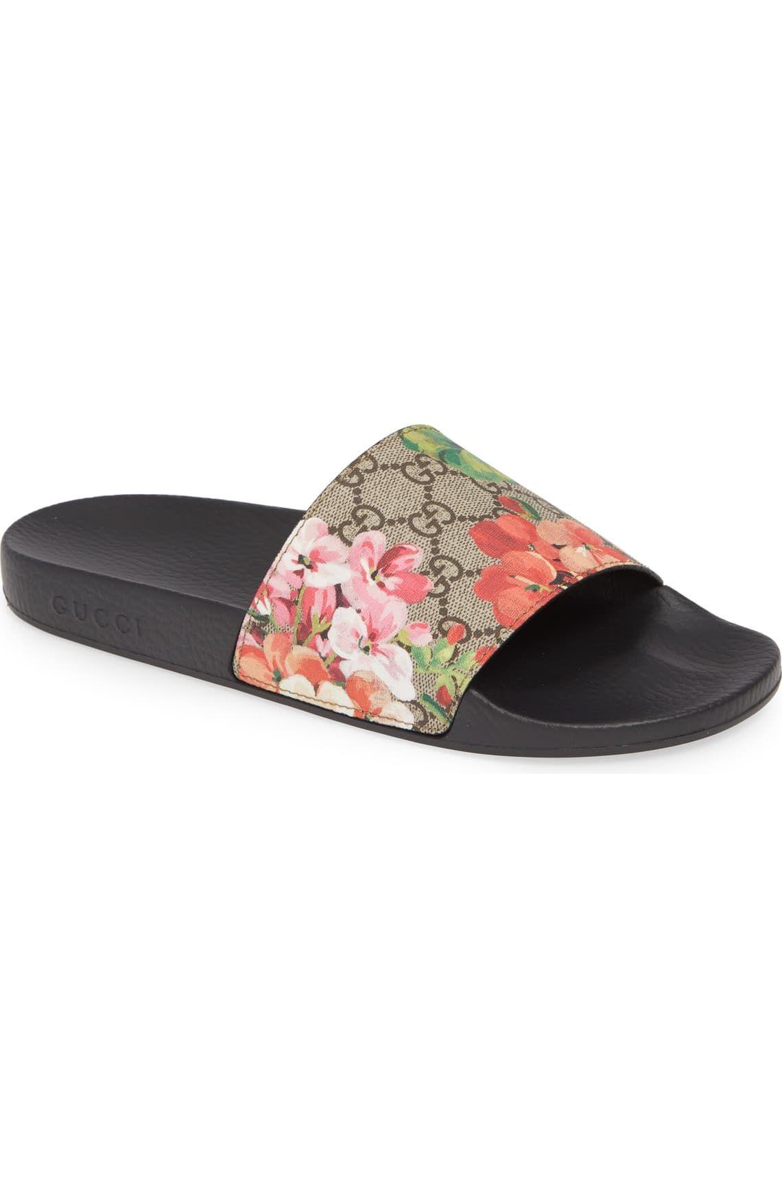 Gucci Pursuit Slide Sandal (Women