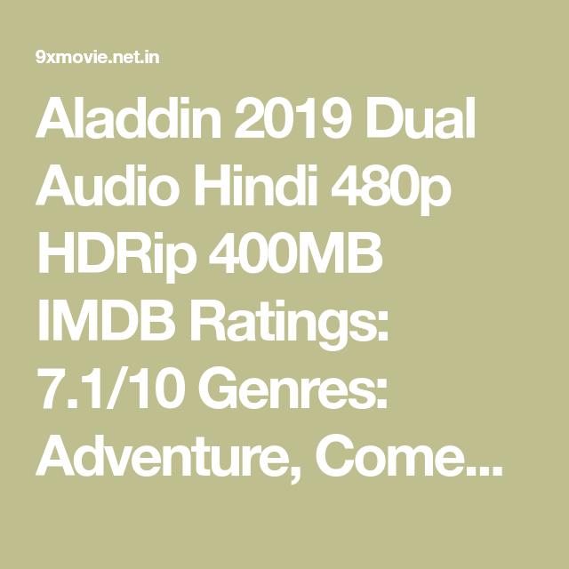 Aladdin 2019 Dual Audio Hindi 480p Hdrip 400mb Aladdin Movie Plot Guy Ritchie