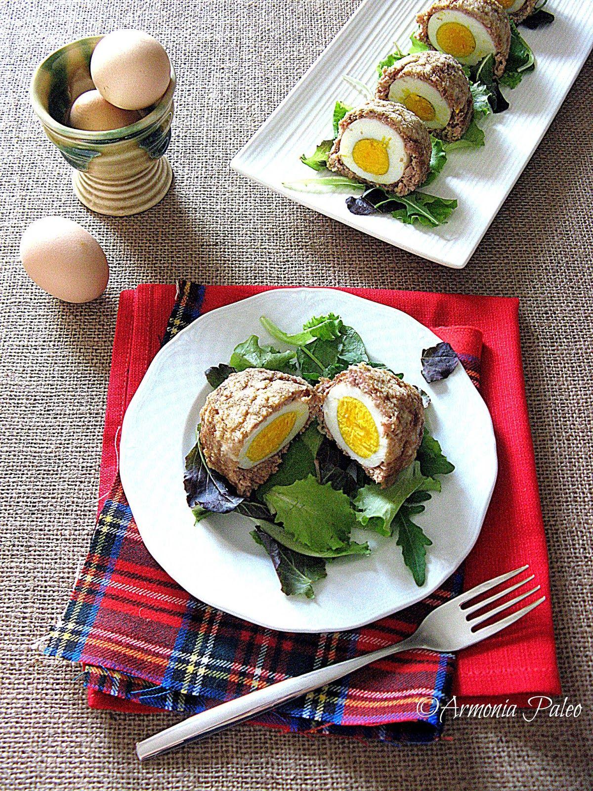 Armonia Paleo: Scotch Eggs - Uova Scozzesi