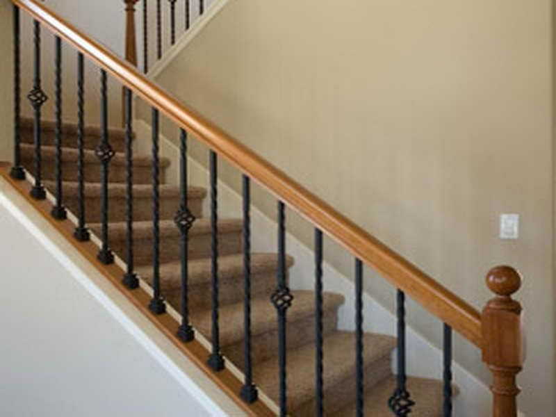 Image Result For Carpeted Stairs With Railings Stair Railing | Metal Handrails For Indoor Stairs | Baluster | Indoor Outdoor | Staircase Remodel | Stainless Steel | Stair Treads