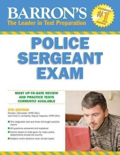 Barrons Police Sergeant Exam BARRONS HOW TO PREPARE FOR THE POLICE SERGEANT EXAMINATION