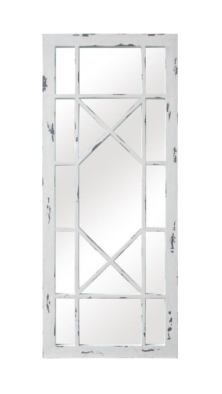 Jardin Geometric Wood Pane Mirror On Chairish Com Window Wall Decor White Wood Furniture Painted Wood Walls