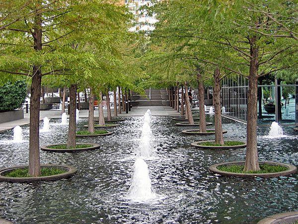 Dan Kiley Paesaggista Dallas Usa Cultural Landscape Landscape Architecture Design
