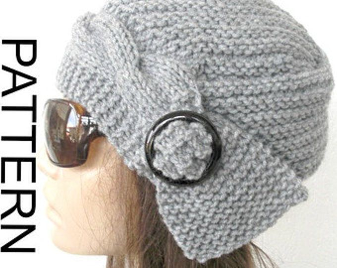 Winter Knitting Pattern hat Instant Download hat pattern Ebruk ...