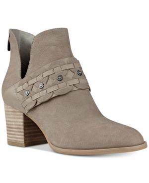61e09266f7d67 Nine West Danbia Block-Heel Booties - Tan/Beige 6.5M | Products ...