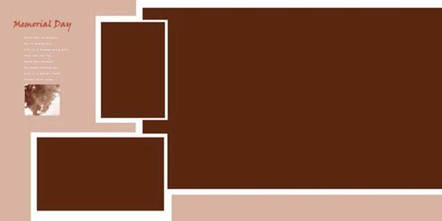 30x15 Wedding Album Design Psd Templates | Pinterest | Album design ...