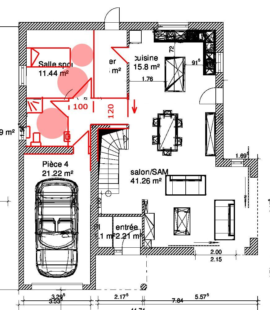 Plan Maison 150m2 Gratuit Tunisie Plan Maison 0