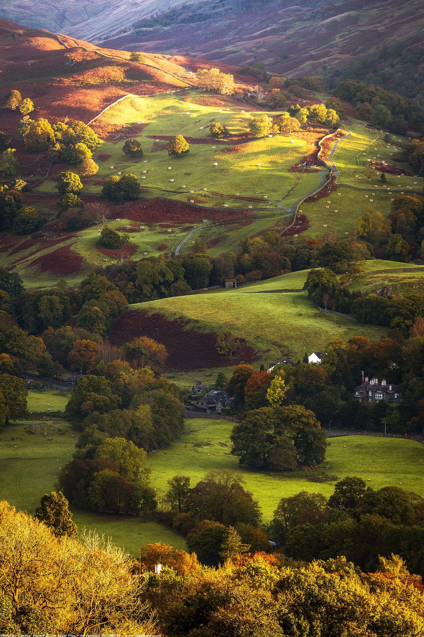 Morning Light At Ambleside Lake District Cumbria England Cool Places To Visit Lake District England Lake District