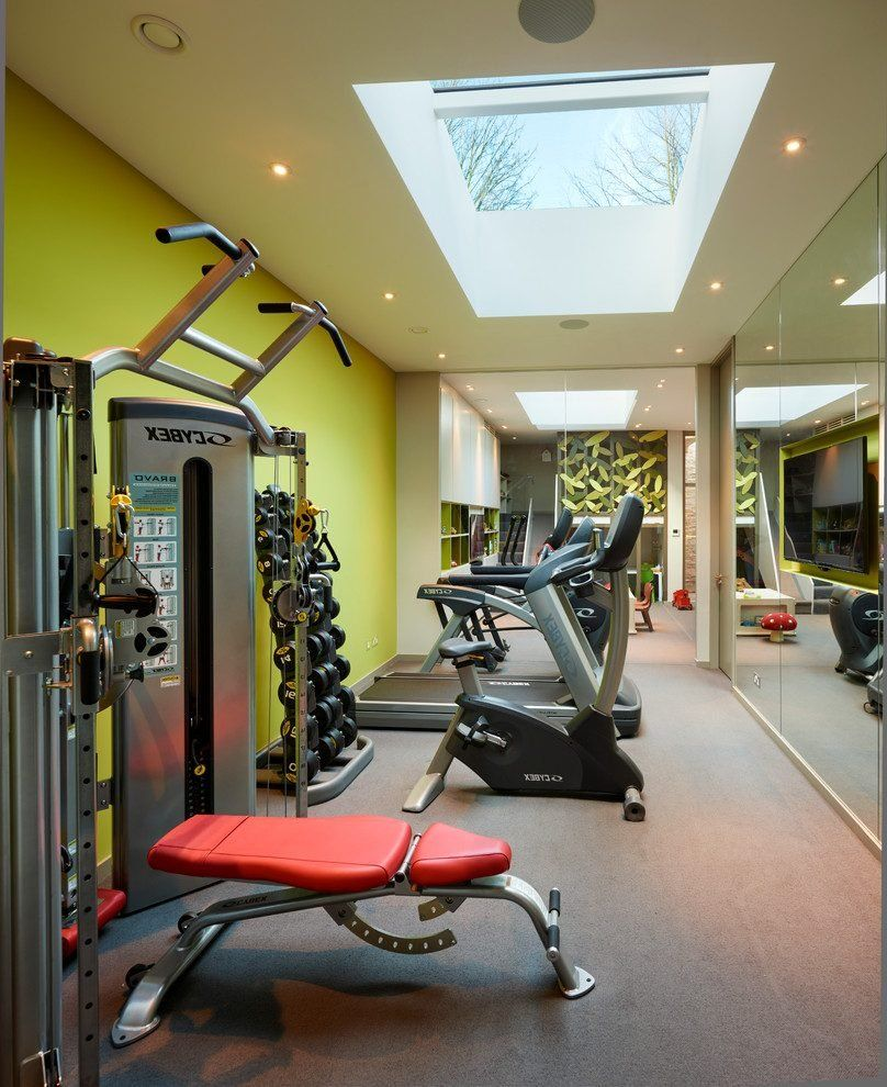 Pin by candy stahl on gym in home gym design gym decor