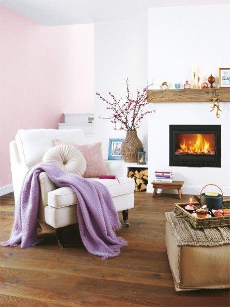 Wohnideen im Winter So wird es warm und gemütlich Drinnen - wohnzimmer gemutlich warm