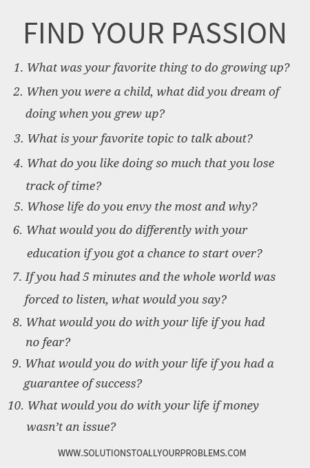 Photo of So finden Sie Ihre Leidenschaft: Stellen Sie diese 10 Fragen