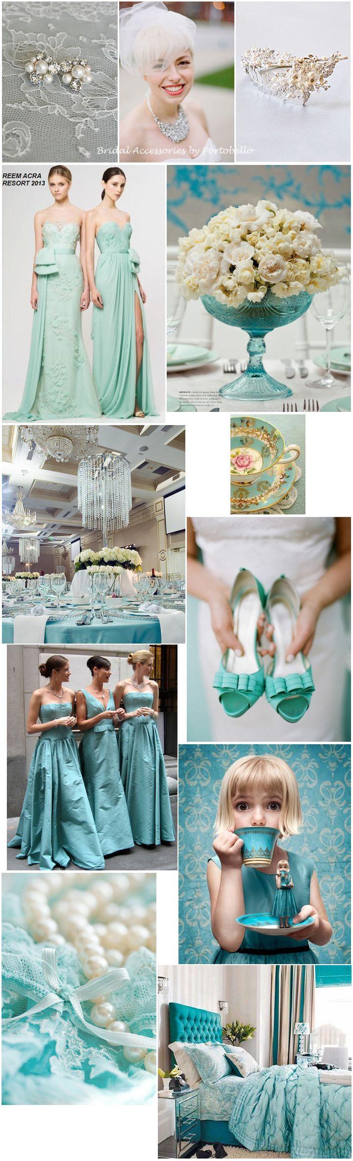 Tiffany Blue Wedding Theme / portobellojewelry.com