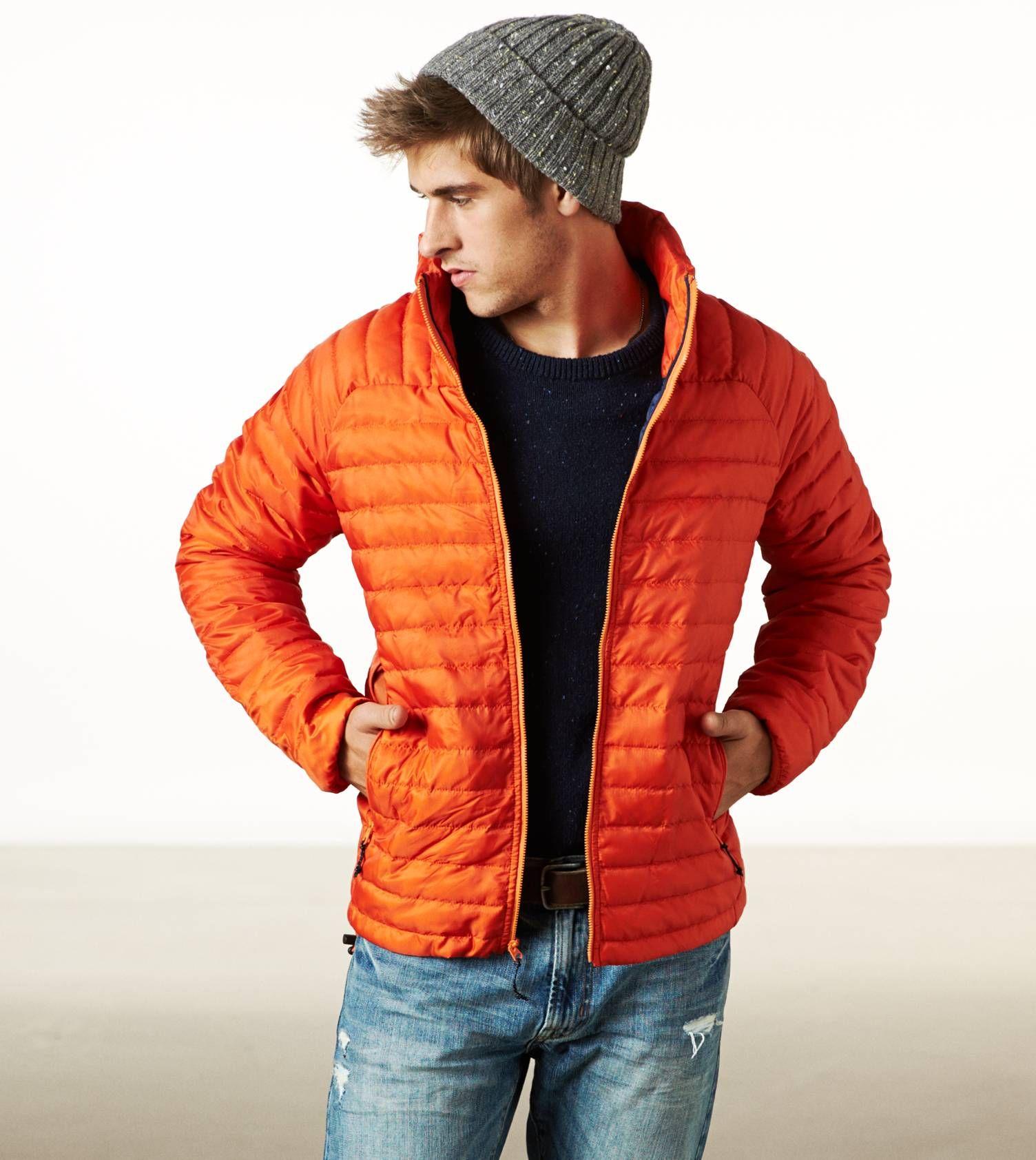 Ae Lightweight Puffer Jacket Winter Outfits Men Mens Winter Fashion Winter Fashion Outfits [ 1684 x 1504 Pixel ]