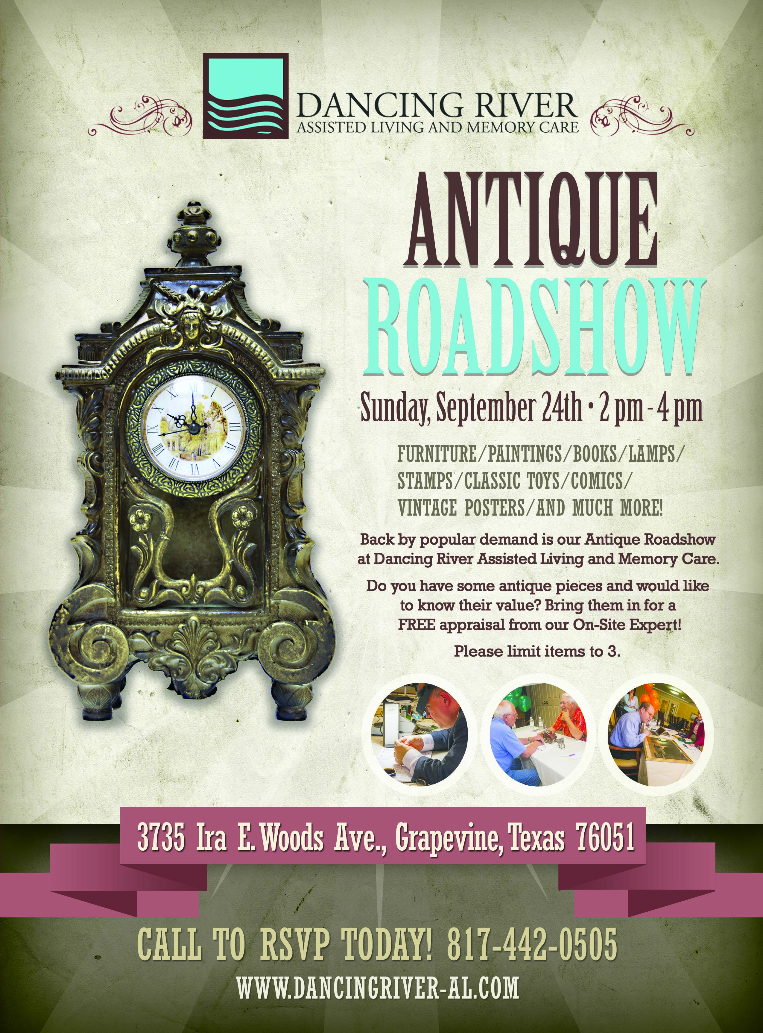 What Are You Bringing To The Antique Roadshow Roadshow Antiques Senior Living Book Lamp Assisted Living