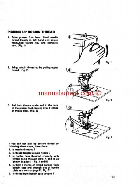 Get your copy of the Instruction manual for the Kenmore \/ Sears - instruction manual