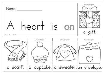 valentine 39 s day sight word fluency flip books fun at school sight words kindergarten. Black Bedroom Furniture Sets. Home Design Ideas