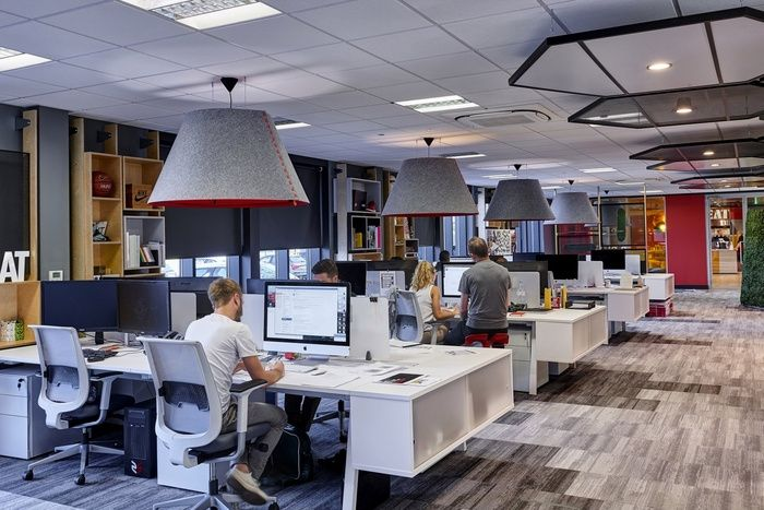 Office tour office twelve headquarters leicester leicester design firms and office designs