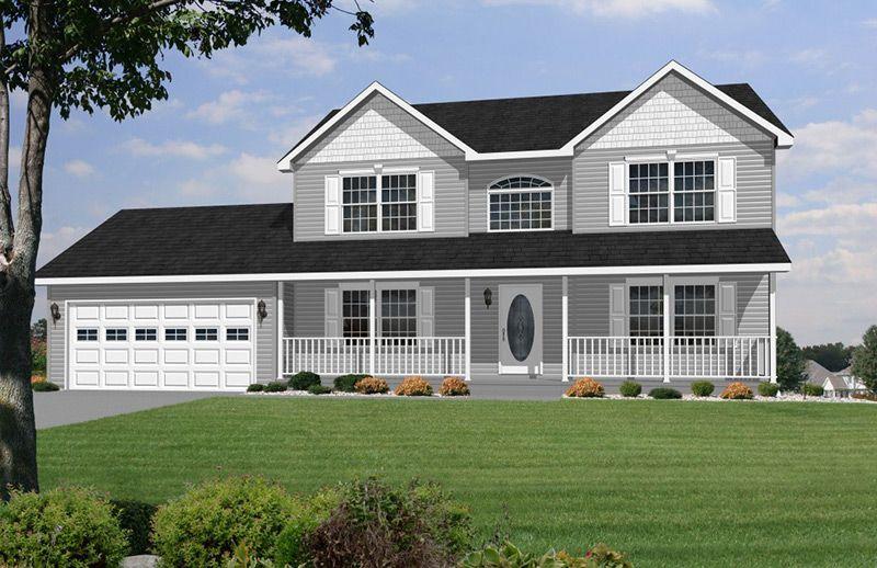 28x36 52 Two Story Colonial Modular Home Modular Home Floor Plans Modular Homes House Floor Plans