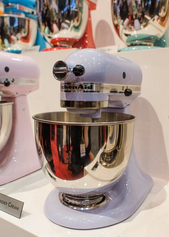 KitchenAid 5 Quart Artisan Stand Mixer Lavender Cream