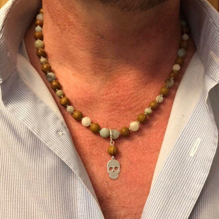 collier homme tour de cou