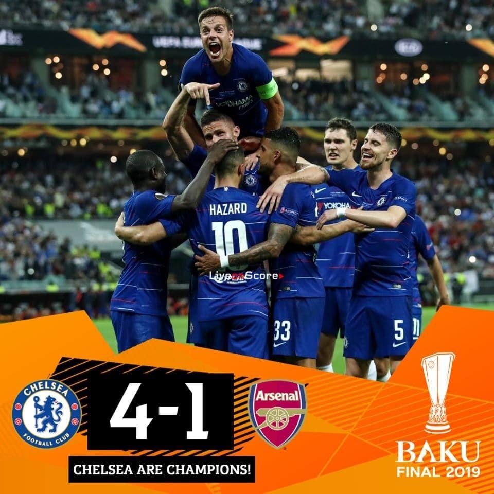 Chelsea 41 Arsenal Full Highlight Video Uefa Europa