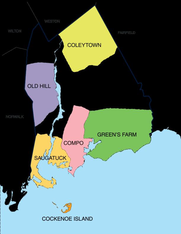 Neighborhoods of Westport, CT - Westport, Connecticut ...