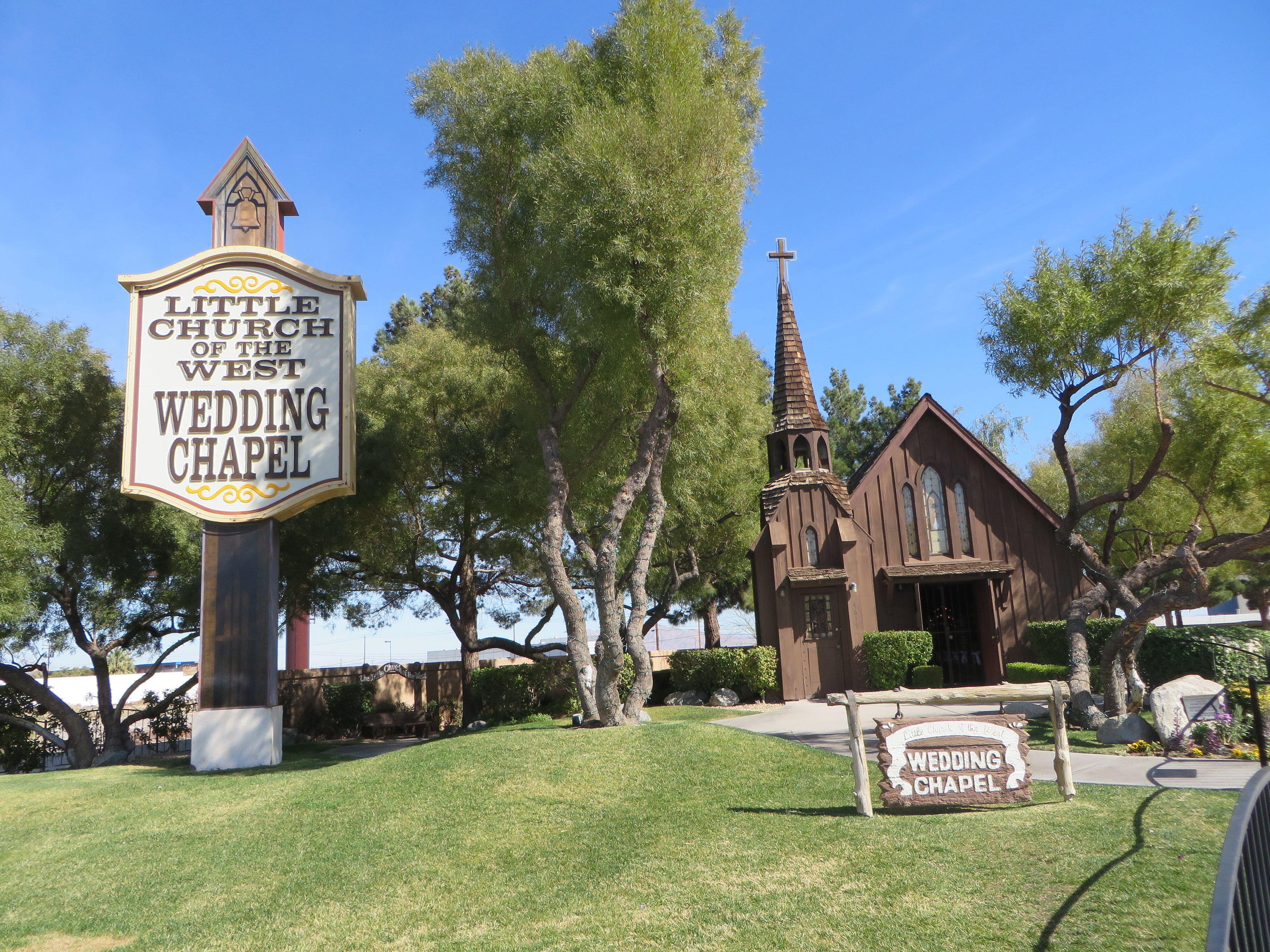 Little Church of the West Wedding Chapel, Las Vegas