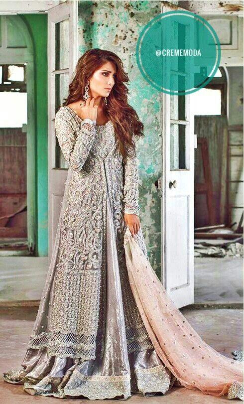 Sana Abbas Bridal Wear #sanaabbas #pakistanibridal #pakcouture #desi #designer #couture #love #dress #style #fashion #southasian #bridal @CremeDeModa