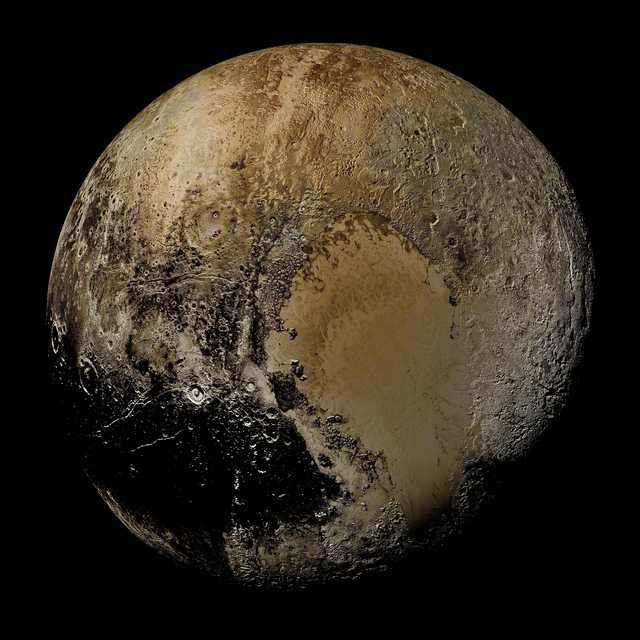 Pluto as you've never seen it before | Geek (Science) | Nasa ... on atmosphere on pluto, illustrations of pluto, journey to pluto, voyager pluto, mission to pluto, who discovered pluto, color of pluto, viva la pluto, god of pluto, google pluto, sun pluto, dwarf planet poor pluto, size of pluto, hydra moon of pluto, temperature on pluto, space pluto, symbol of pluto, everything about pluto, information about pluto, the word pluto,