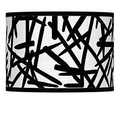 Sketchy giclee lamp shade 135x135x10 spider accessorize me sketchy giclee lamp shade 135x135x10 spider mozeypictures Gallery