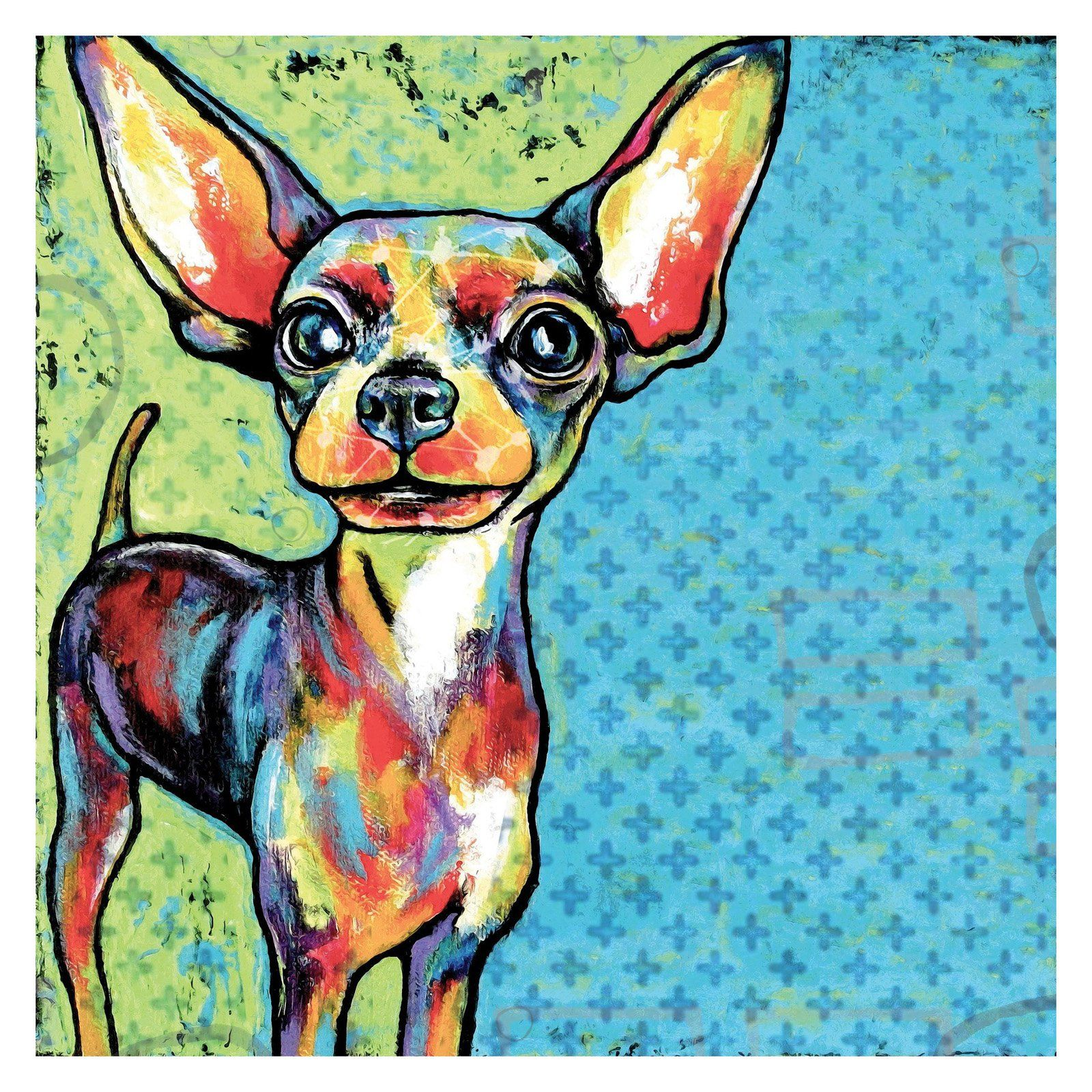 Marmont Hill Chihuahua Painting Print on Wrapped Canvas - MH-STGRC-01-C-18