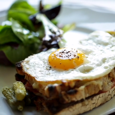 How-To Make a Croque Monsieur and Croque Madame images