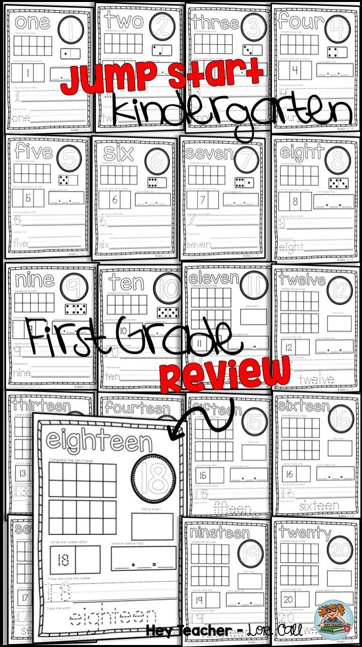 Generous Kindergarten Number Writing Ideas - Math Worksheets ...