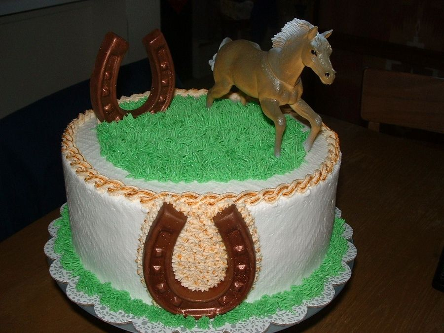Amazing Western Birthday Cake Horse Birthday Cake Birthday Cards Printable Giouspongecafe Filternl