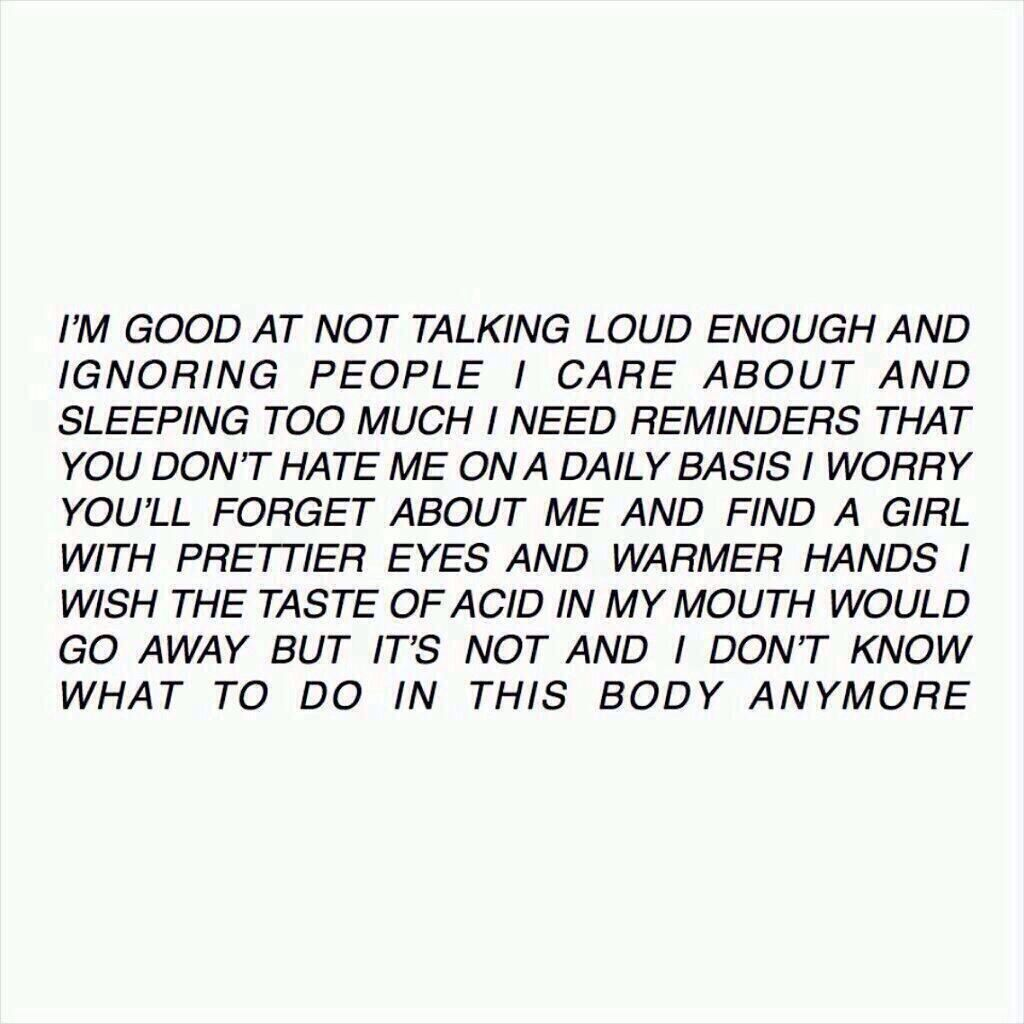 Tumblr All Caps Poetry Tumblriness Quotes Words Poems