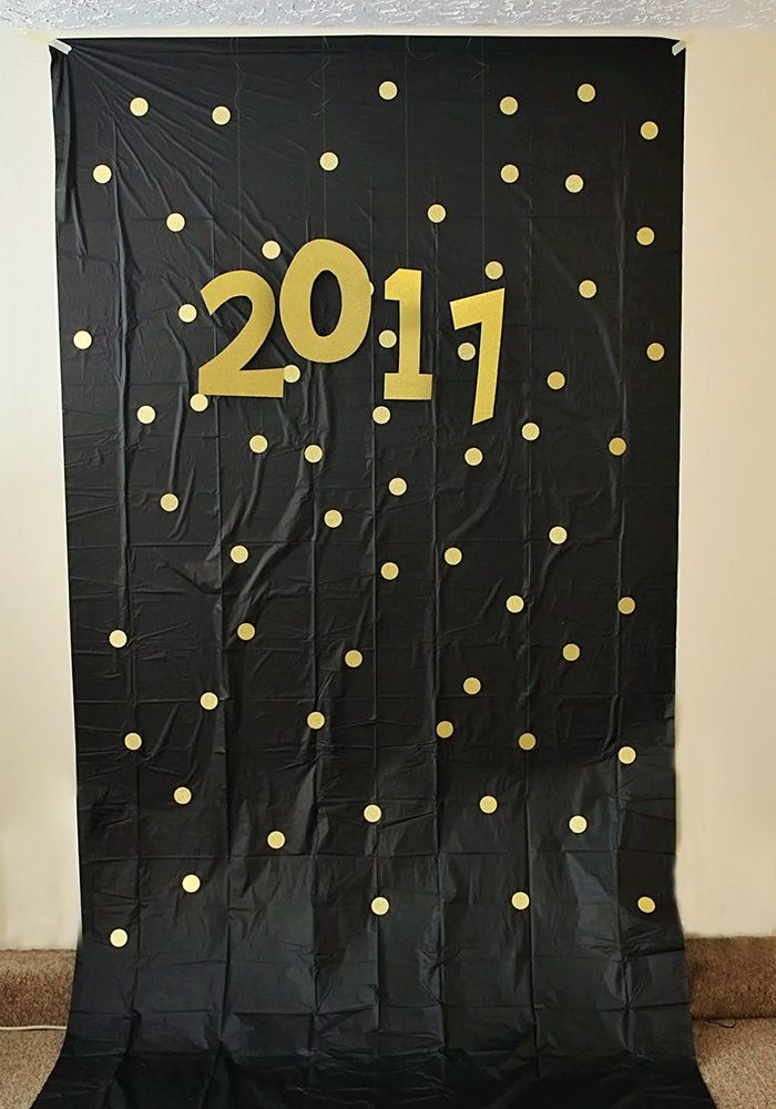 New Year's Eve Photo Backdrop