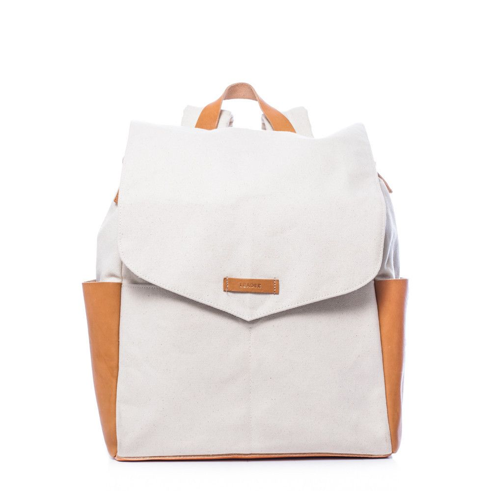 Totally awesome diaper backpack    Julien Backpack in Natural by Leader Bag  Co b5805da32ca2e