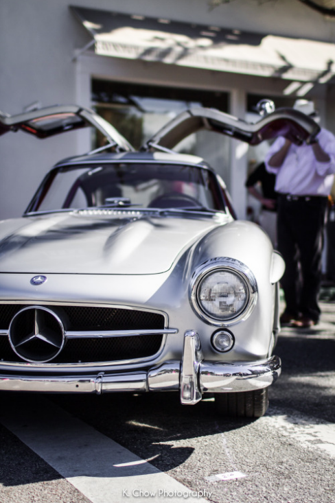 Mercedes Benz #300SL #Gullwing. Pic ©K Chow Photography / #300SLRestorations